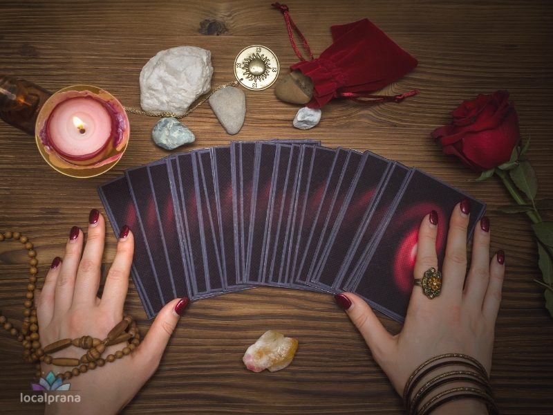 Use divination tools to connect with your spirit guides