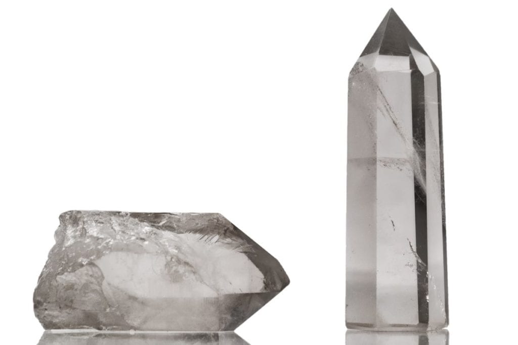 Common crystals for beginners to start their collection with: Clear Quartz