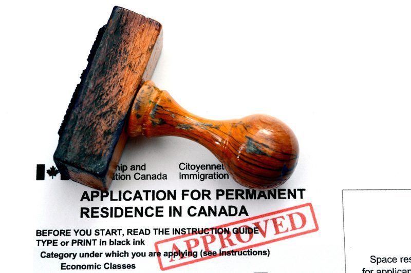 Foreign representatives getting approved for permanent residency in Canada.