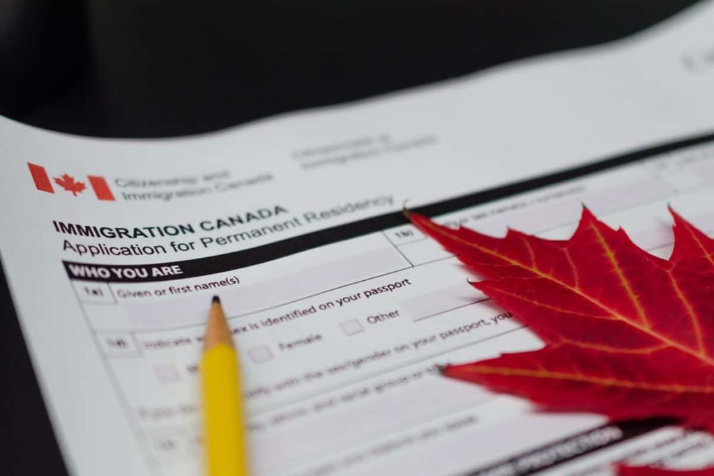 Diplomats applying for permanent residency in Canada